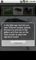 Screenshot of Animal Sounds Free