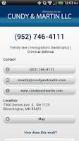 Screenshot of Cundy & Martin LLC