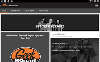 Screenshot of Geek Squad