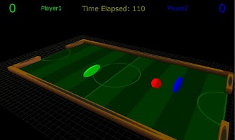 Screenshot of 3D Air Hockey Demo