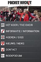 Screenshot of Pocket Rockit