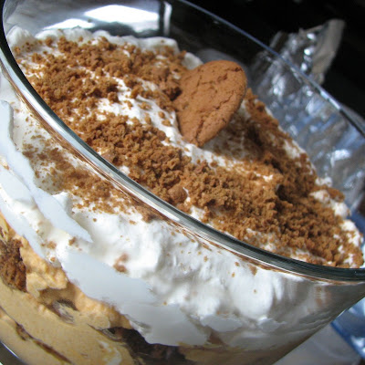 Spiced Pumpkin Mousse Trifle
