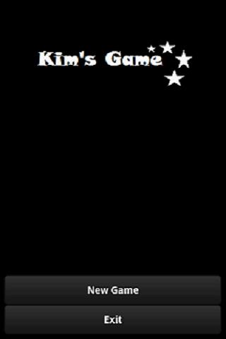 Kims Game