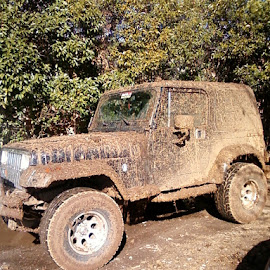 dirty jeep by Tammy Hoage - Transportation Automobiles