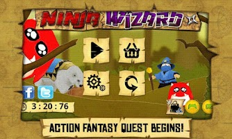 Screenshot of Ninja Wizard
