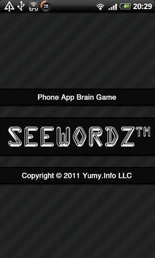 SeeWordz™ Brain Game Free