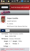 Screenshot of Lowell Spinners