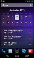 Screenshot of Today - Calendar Widgets Free