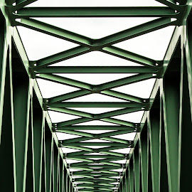 Északi Összekötő Vasúti Híd by Kati Királyné Itaka - Buildings & Architecture Bridges & Suspended Structures ( híd építészet )