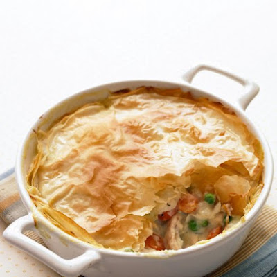 Lighter Chicken Potpie