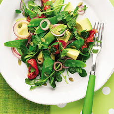 Mangetout And Avocado Salad