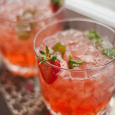Strawberry-Infused Bourbon