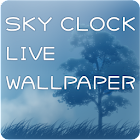 SKY CLOCK LIVE WALLPAPER icon