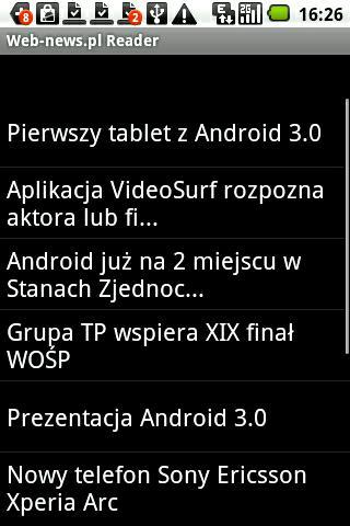 Web-news.pl Reader