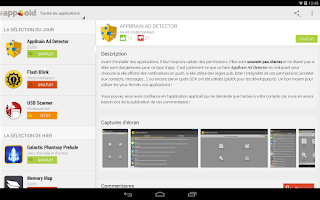 Screenshot of appXoid