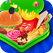 Free Lunch Box Maker Cooking Games APK for Windows 8