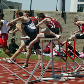 College Hurdles by Alec Halstead - Sports & Fitness Other Sports