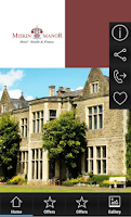 Screenshot of Miskin Manor Hotel&Restaurant