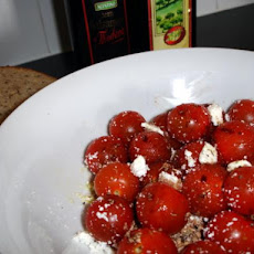 Easy Cherry Tomato and Feta Salad