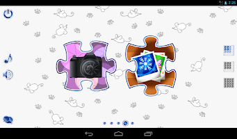 Screenshot of Jigsaw Puzzles Cats