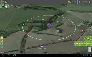 Screenshot of ActInNature Hunting