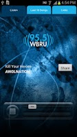 Screenshot of 95.5 WBRU