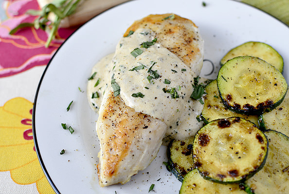 Stuffed Herbed Chicken With Boursin Cheese Recipes — Dishmaps