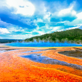 Yellowstone National Park by Tuan Nguyen - Landscapes Mountains & Hills