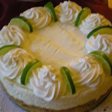 No Bake Lime Cheesecake