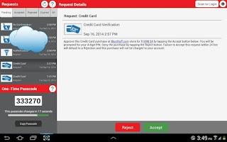 Screenshot of Verizon Universal Identity