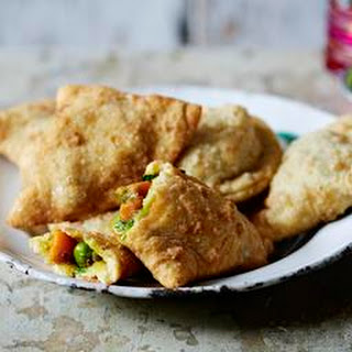 Indian Vegetable Samosas Hors D''oeuvres Recipes
