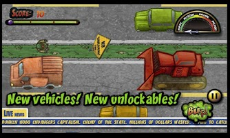 Screenshot of Highway Hobo