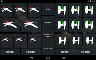Screenshot of X-Wing Soundboard