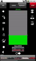 Screenshot of Mobile Station