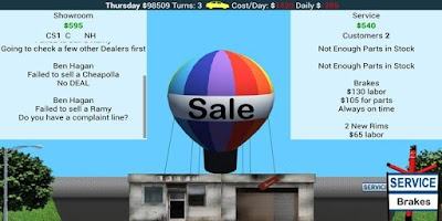 Screenshot of Car Dealership Tycoon