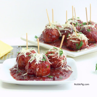 Kicked-Up Classic Cocktail Meatballs