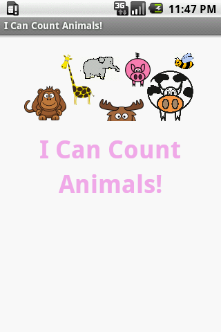 I Can Count Animals