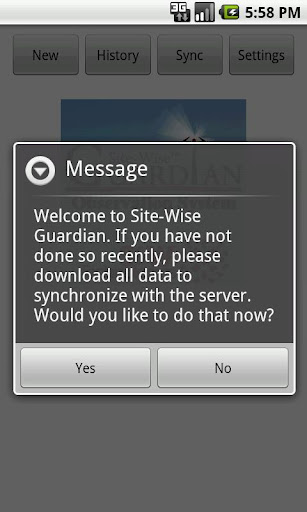 Site-Wise Guardian Mobile