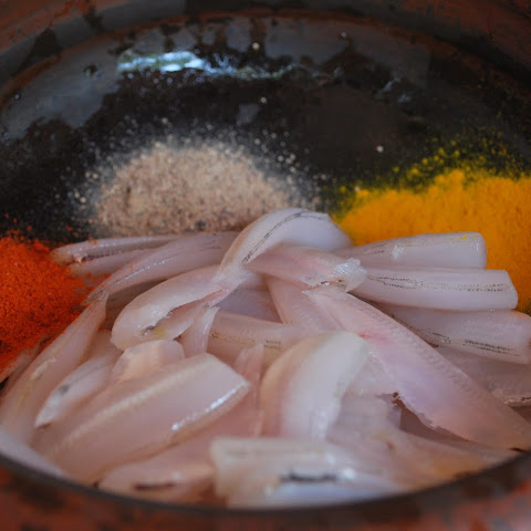 Masala Squid