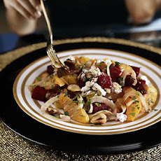 Golden and Crimson Beet Salad with Oranges, Fennel, and Feta