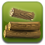 Stack the log ! icon