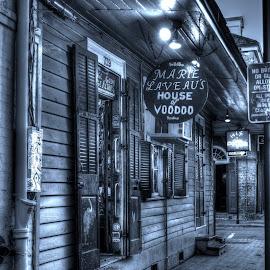 Voodoo by Mark Lindsey - City,  Street & Park  Markets & Shops ( bourbon, orleans, bourbon street, new orleans, new, voodoo, st )