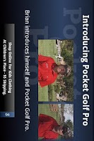 Screenshot of Pocket Golf Pro