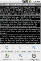 Screenshot of Bible ASV