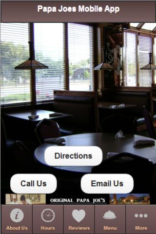 Original Papa Joe's Mobile App