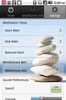 Screenshot of Meditation Timer
