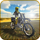 Game Cross Motorbike Trial 3D apk for kindle fire