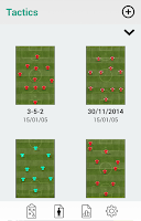 Screenshot of Soccer Tactics Board