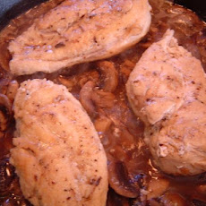 Chicken & Mushrooms (Greek Style)