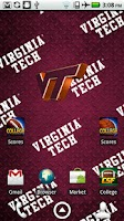 Screenshot of Virginia Tech Live Wallpaper